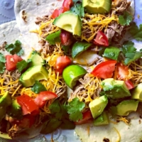 Instant Pot Mexican Pulled Pork Tacos - A delicious and easy dinner