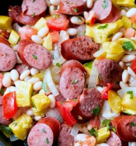 Summer Squash and Smoked Sausage Skillet: An Easy 15-Minute Meal