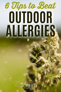 Tips to Beat Outdoor Allergies