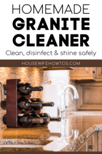 Homemade Granite Cleaner - Safe and Easy » Housewife How-Tos®