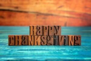 Get Organized For Thanksgiving Checklist