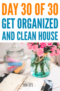 Staying Decluttered Printable - A 2-week schedule to stay on track #getorganized #declutter #cluttercontrol #homeorganization