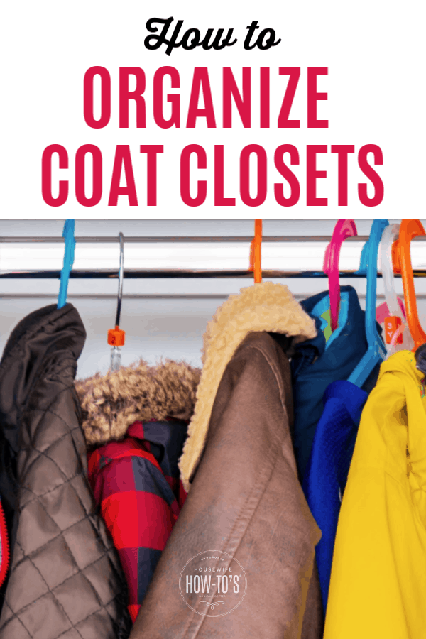 How to Organize Coat Closets