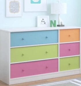 How to organize kids dresser