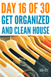 Organizing Bedroom Closets - Day 17 of this 30-Day Home Organizing Series #closetorganization #getorganized #clutter #cluttercontrol #homeorganization