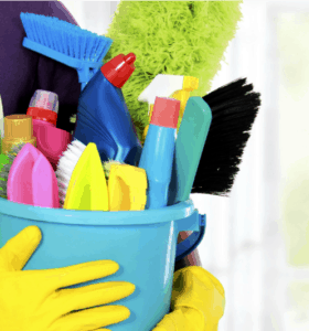 Organizing Cleaning Supplies