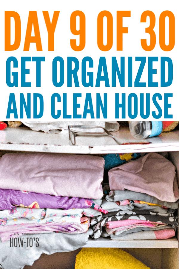 Organizing Kid Closets - Day 9