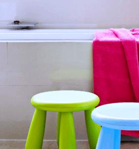Organizing Kids Bathrooms