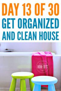 Organizing Kids Bathrooms #getorganized