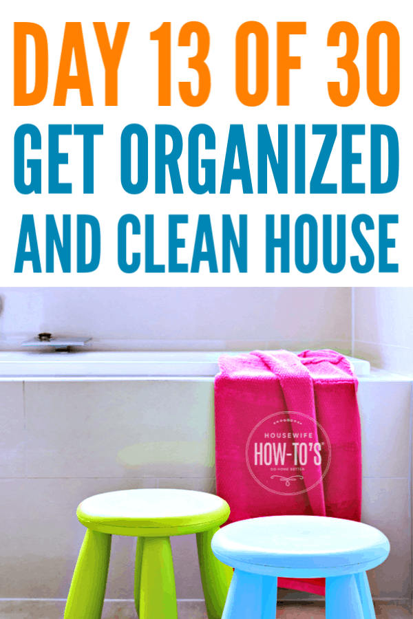 Organizing Kids' Bathrooms #getorganized #declutter #cluttercontrol #homeorganization #cleaning