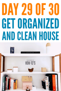 Organizing Tips to Keep Clutter Away - How to stop clutter-creep and keep your home organized #cluttercontrol #getorganized #homeorganization