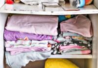 Get Kids Closets Organized - Messy closet shelves