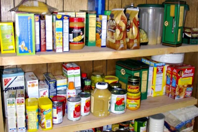 How to Use Coupons - A pantry full of non-perishables