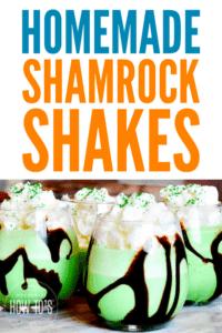 Homemade Shamrock Shakes Recipe