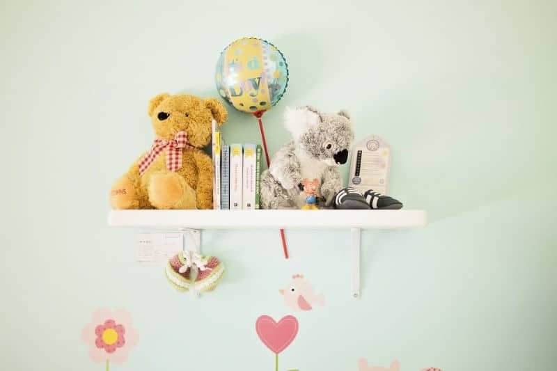 Help Kids Organize their Rooms - Display books on shelves not in stacks