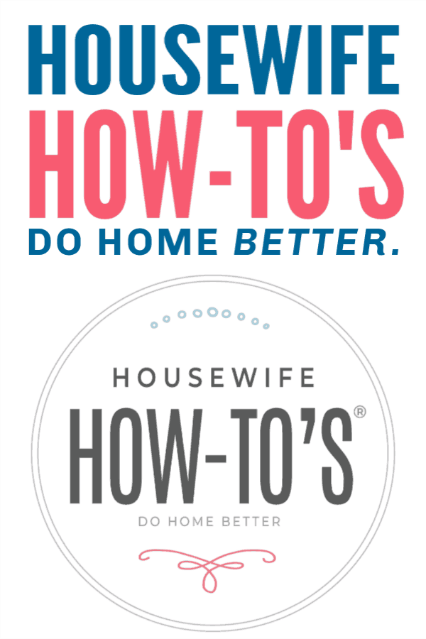 Housewife How-Tos - A homemaking site that helps!