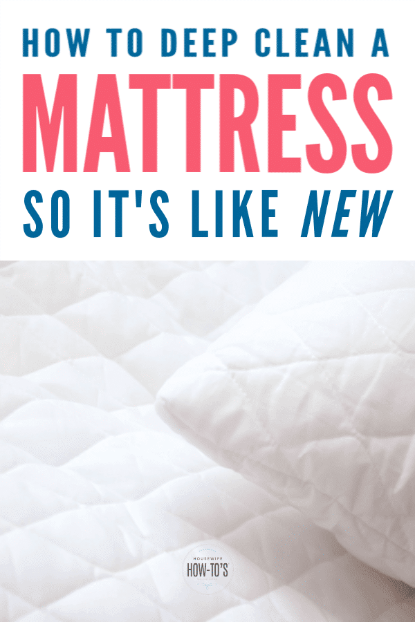 How to Clean a Mattress So It's Like New