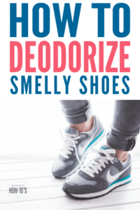 How to Deodorize Smelly Shoes