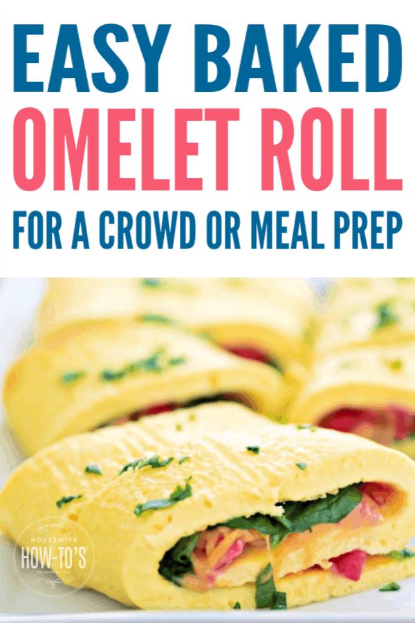 Easy Baked Omelet Roll Recipe