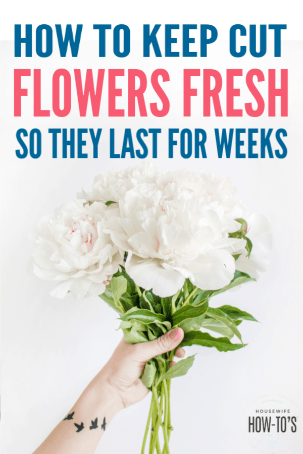 How to Keep Flowers Fresh so They Last for Weeks