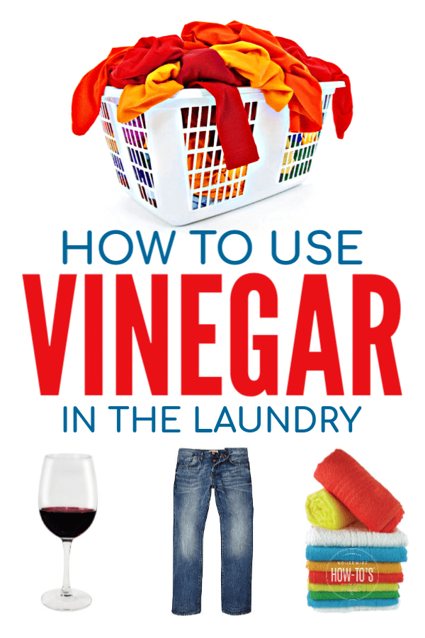 How to Use Vinegar in Laundry