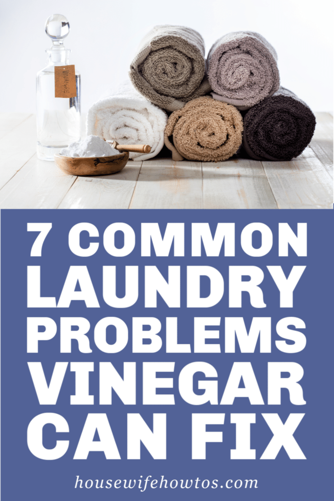 Use Vinegar to Fix These Laundry Problems