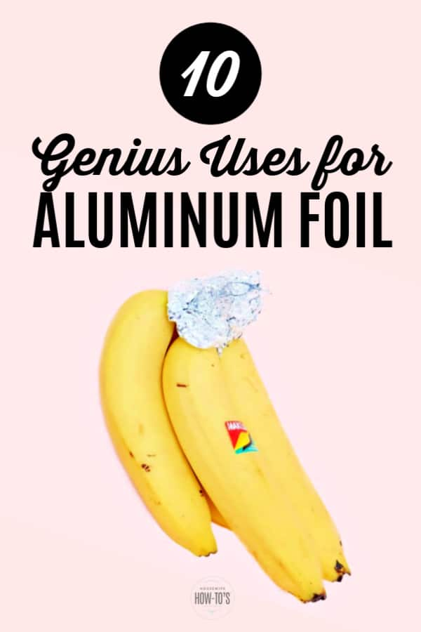 Uses for Aluminum Foil to Clean