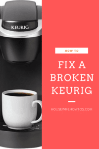 How to Fix a Broken Keurig