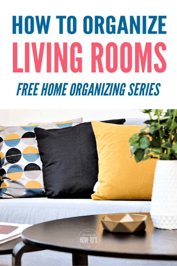 How to Organize Living Rooms
