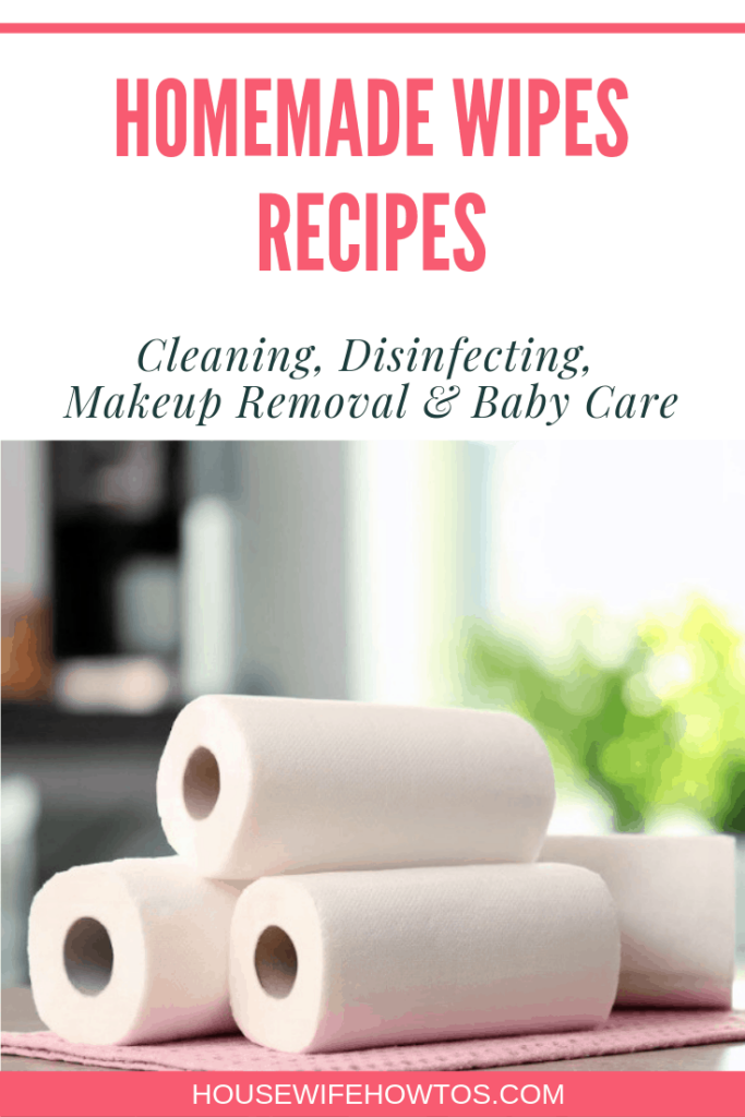 Homemade Wipes Recipes for Cleaning