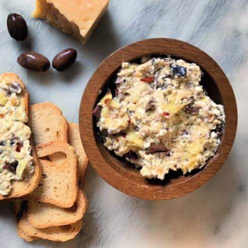 Artichoke and Kalamata Olive Dip Recipe
