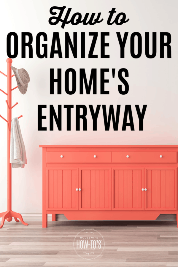 How to Organize Your Home's Entryway