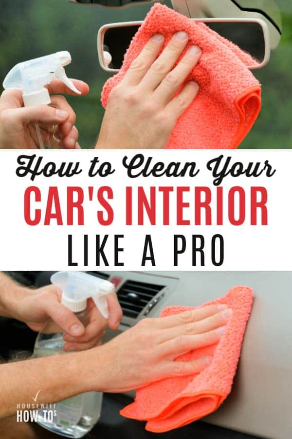 How to Clean a Car Interior Like a Pro Detailed