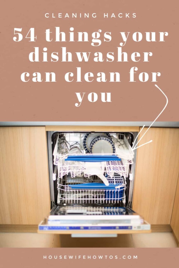 54 Things Your Dishwasher Can Clean For You