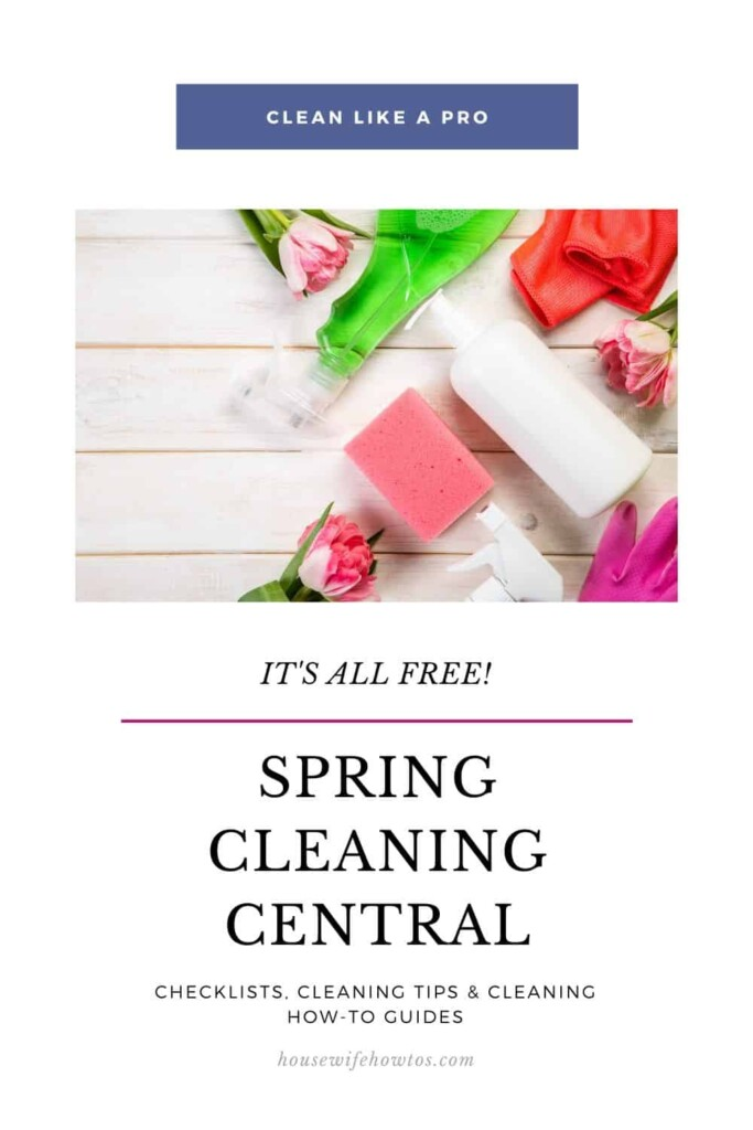 Home Spring Cleaning Central Resource Page