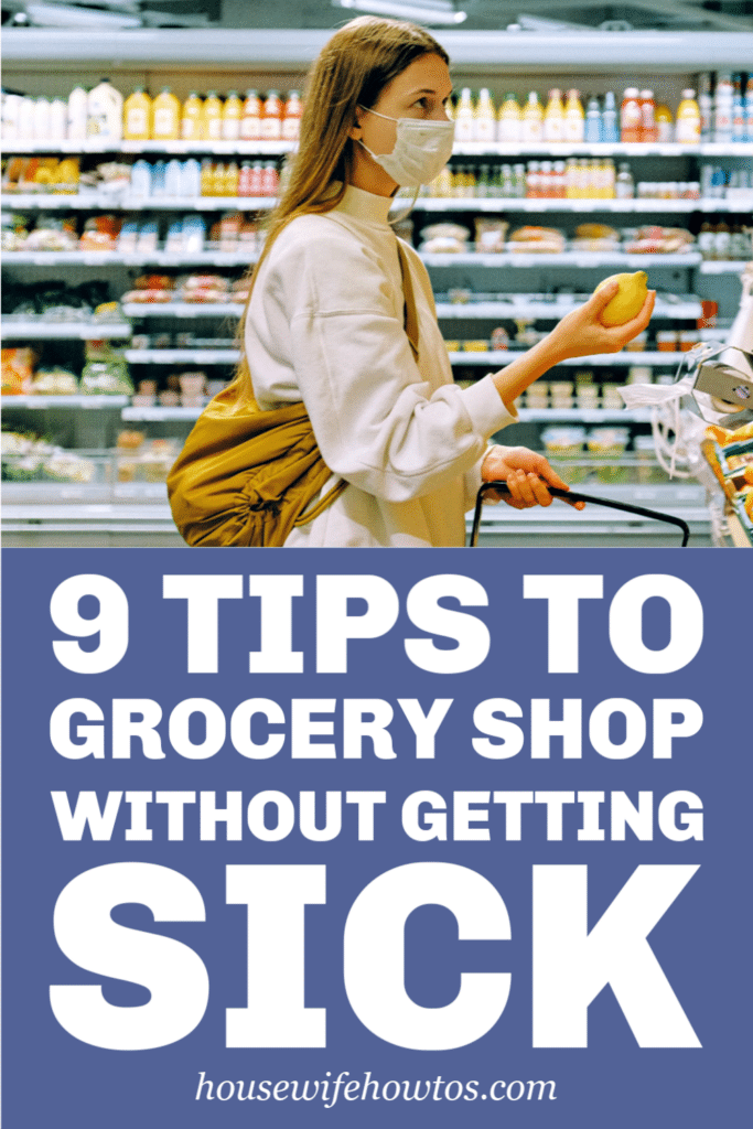 How to Grocery Shop Without Getting Sick