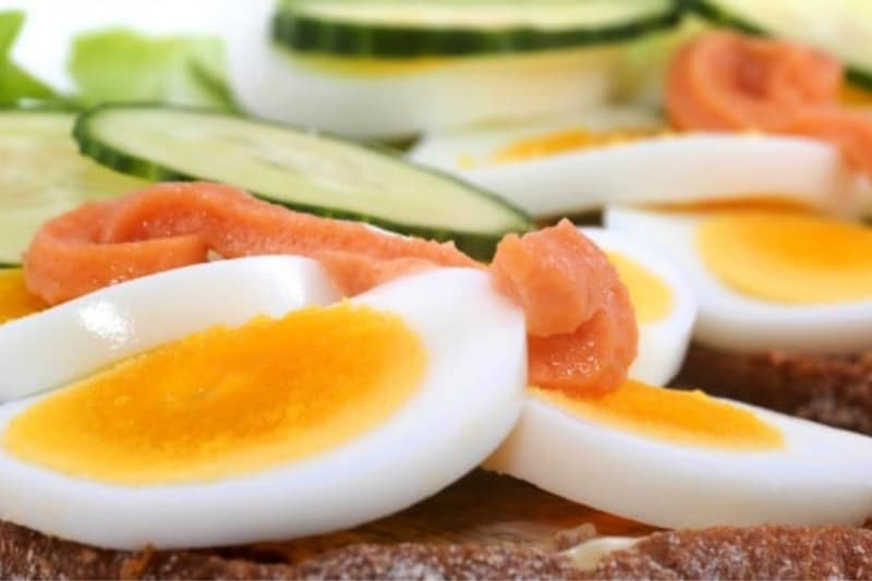 Sandwich recipes using hard boiled eggs