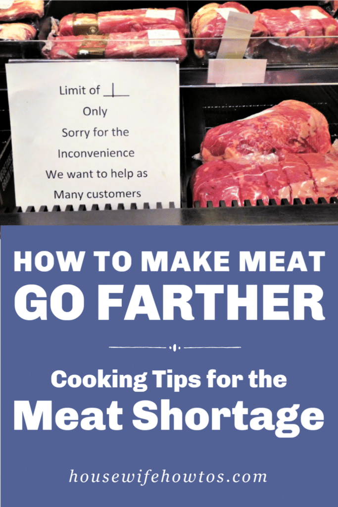 How to Use Less Meat Feeding Your Family