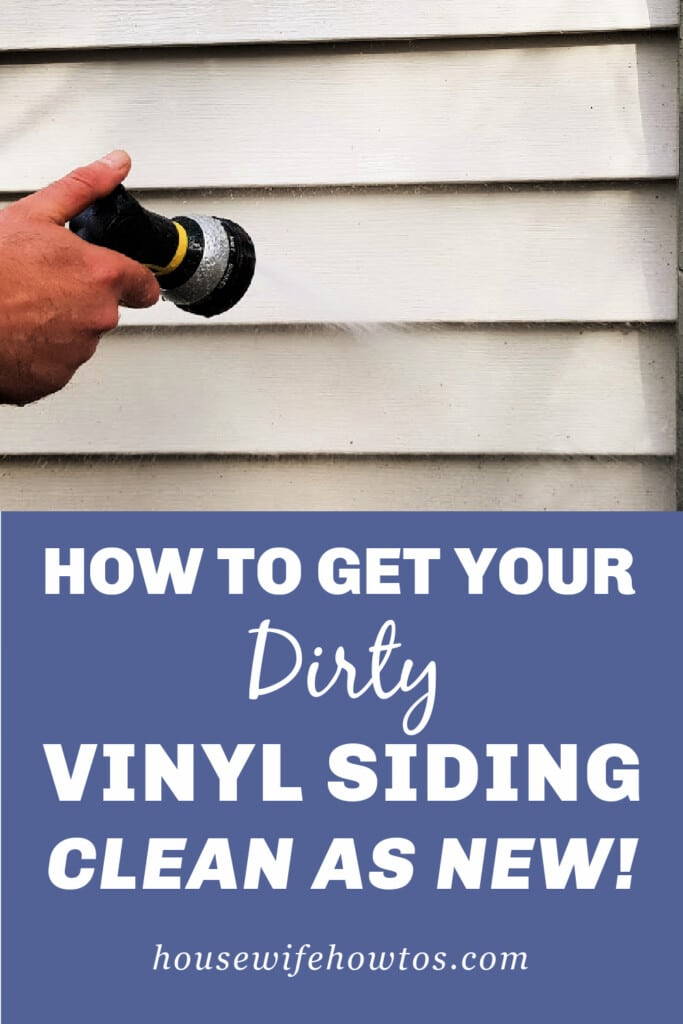 How to Get Your Dirty Vinyl Siding Clean as New