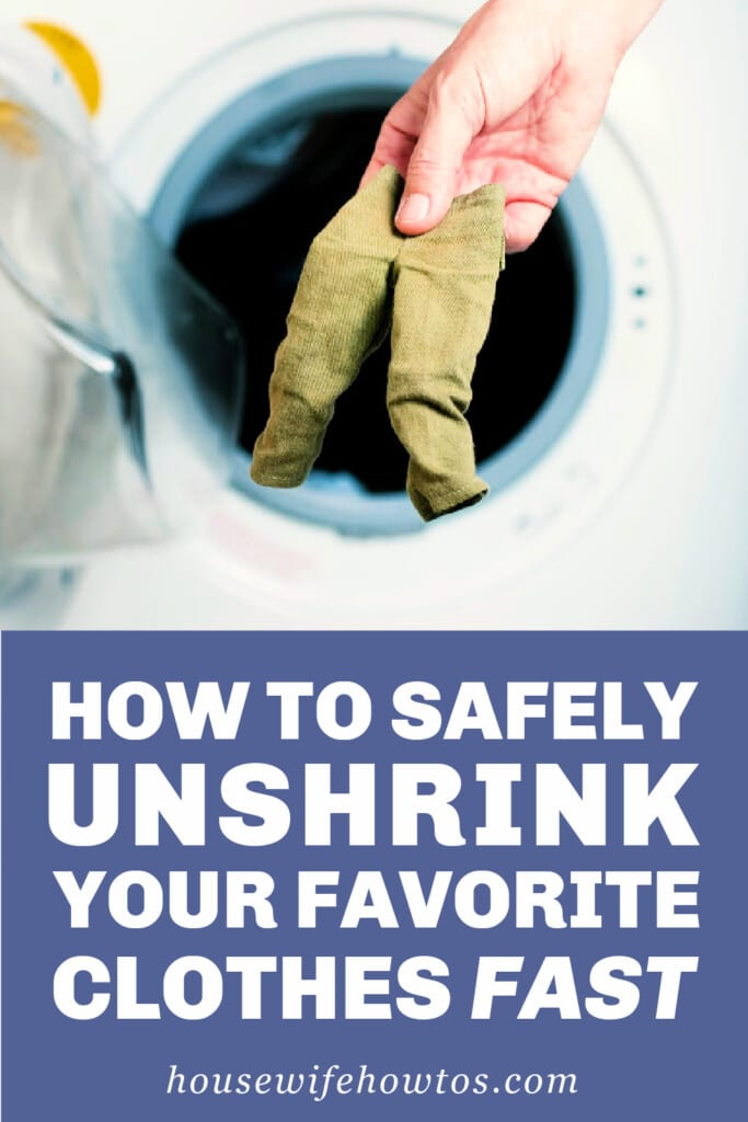 How to Safely Unshrink Your Favorite Clothes Fast