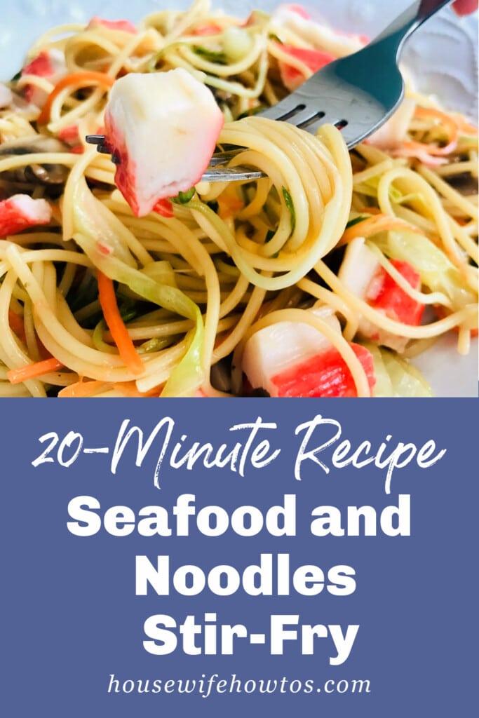 20-Minute Seafood Noodle Stir-Fry Recipe