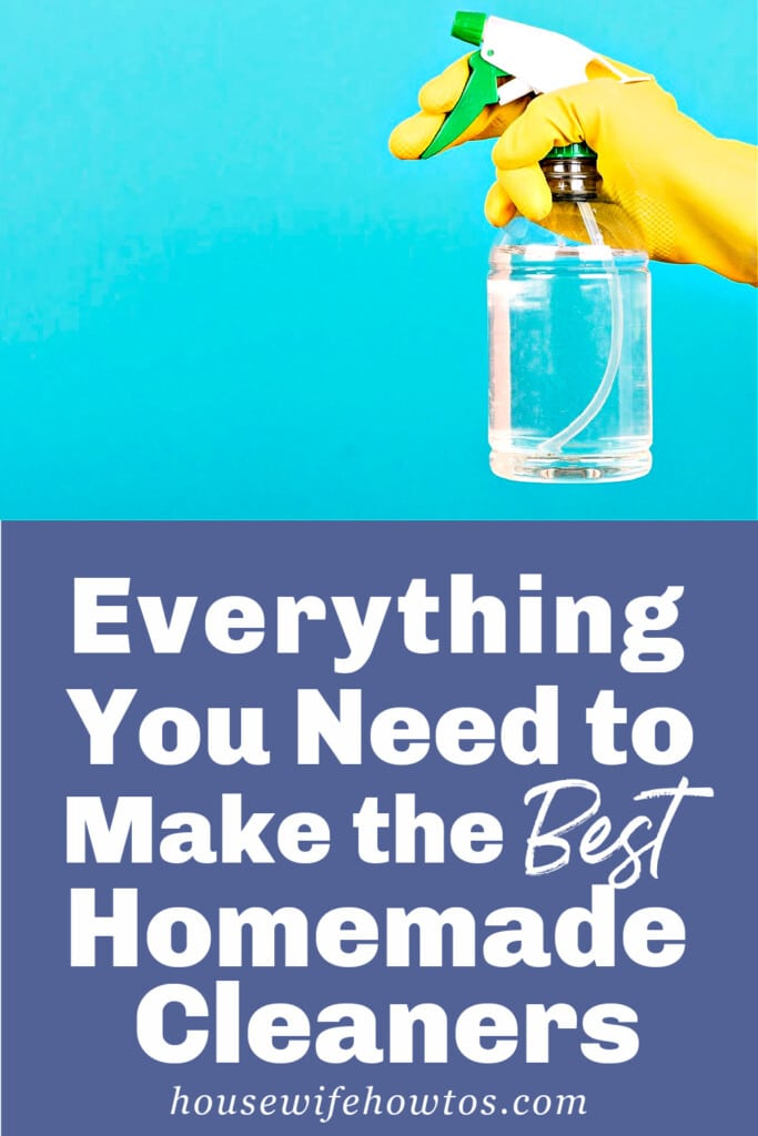 Everything You Need to Make the Best Homemade Cleaners