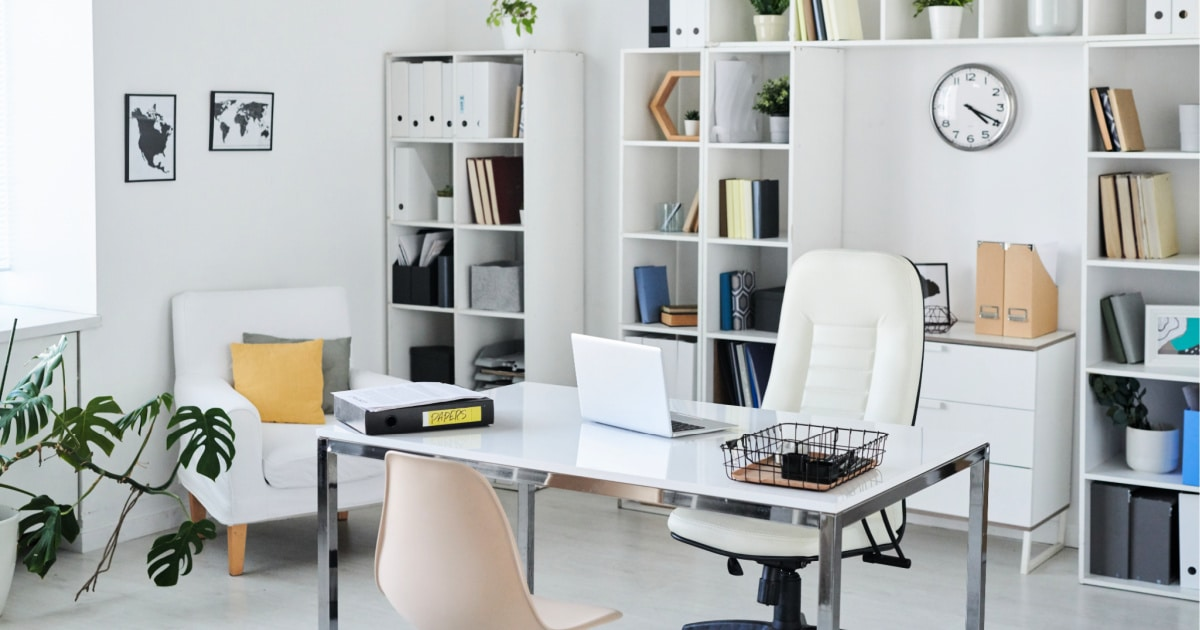 How to Clean Your Home Office and Organize Paperwork