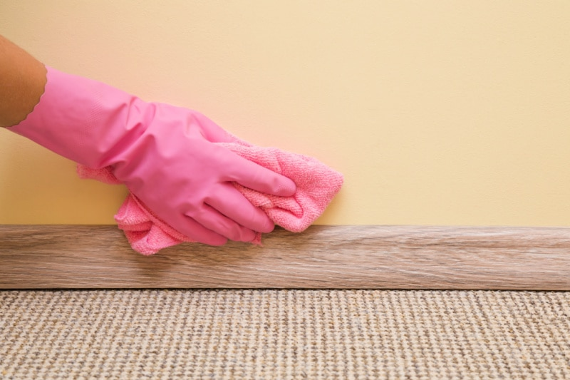 How to Clean Your Walls, Baseboards, Ceilings and windows