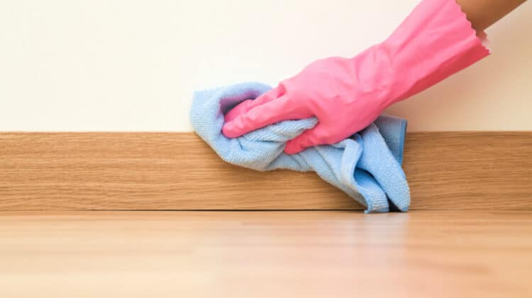 How to Clean Baseboards without Bending or Kneeling