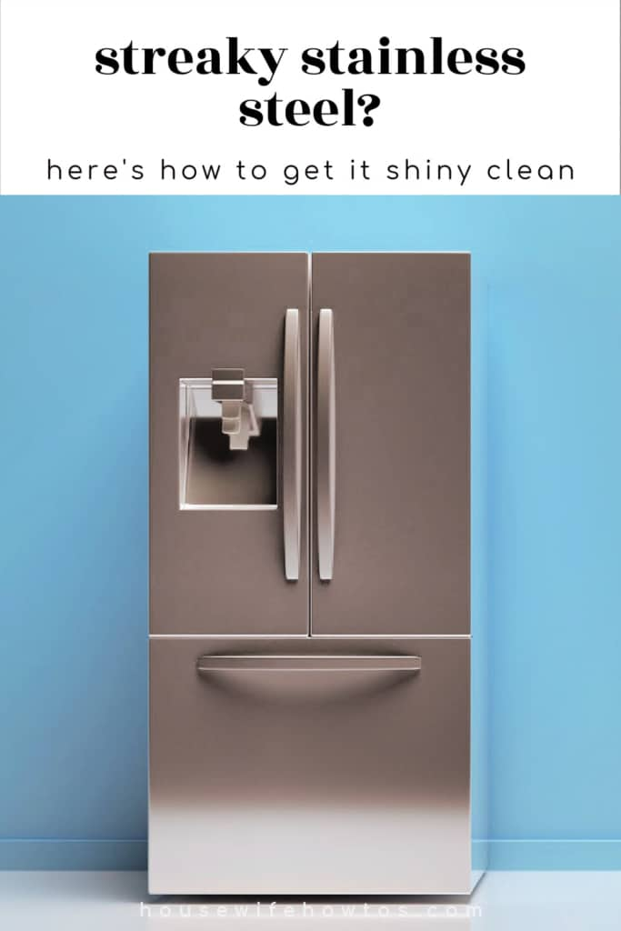 Streaky stainless steel? Here's how to get it clean
