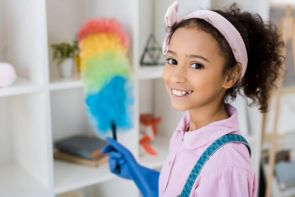 Cleaning Games that Kids Can Play